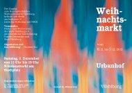 Weih- nachts- markt - und Werbeverein Vilsbiburg
