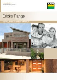 Bricks Range - Boral