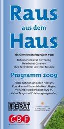 aus dem Programm 2009 - Stadt Germering