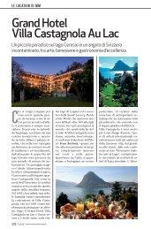 Grand Hotel Villa Castagnola Au Lac