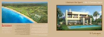 3 Bedroom Villa Type A - Mazagan Beach Resort