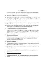 Hausordnung Mehrzweckraum Grundschule 1 - FEN