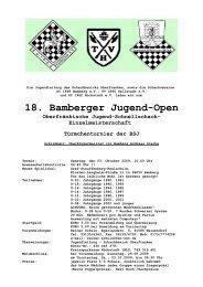 18. Bamberger Jugend-Open - FEN