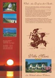 Wiek - das Dorf an der Bucht - Villa Maris