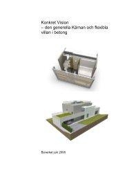 Konkret Vision – den generella Kärnan och flexibla villan i ... - SBUF