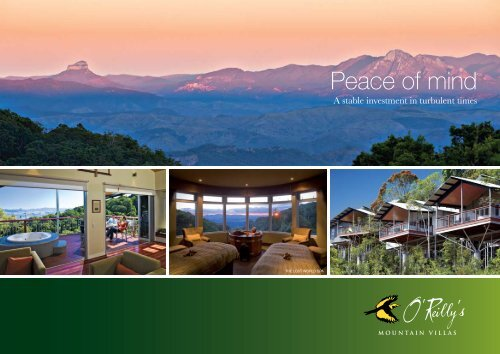 O'Reilly's Mountain Villas and Lost World Spa - O'Reilly's Rainforest ...