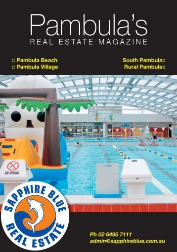 View Current Brochure - Sapphire Blue Real Estate