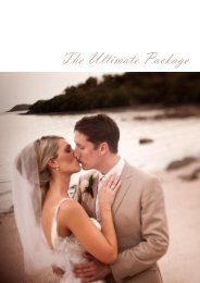 The Ultimate Package - Villa Botanica Weddings