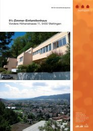 Grundrisse - Markstein AG
