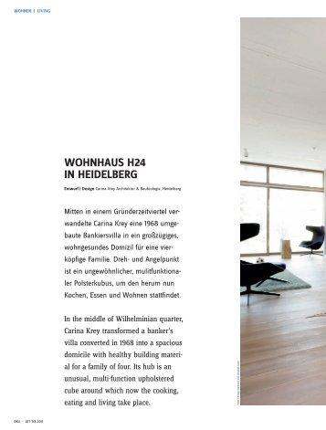 WOHNHAUS H24 IN HEIDELBERG