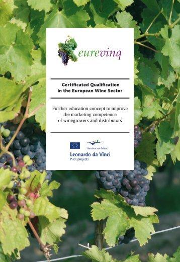 EUREVINQ - Certificated Qualification in the European ... - ADAM