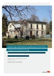 Wettbewerbsprogramm(PDF, 2.1 MB) - Departement Bau - Winterthur