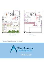 Download The Atlantic - Villa B - Middle Floor Plans - Villas