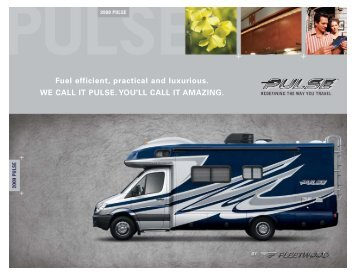 Fuel efficient, practical and luxurious. WE CALL IT ... - RVUSA.com