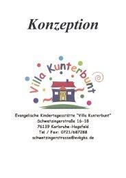 Konzeption Villa Kunterbunt - Kindertageseinrichtungen der ...