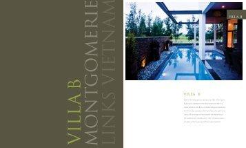 VILLA B - The Estates at Montgomerie Links
