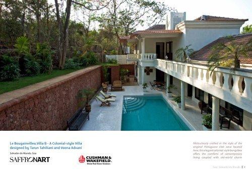 Le Bougainvillea,Villa B - A Colonial-style Villa ... - Saffronart.com
