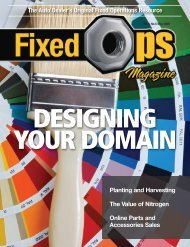Nitrogen's Value - Fixed Ops Magazine