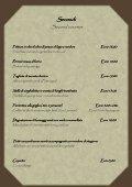 MENU' - Ristorante alle Darsene di Loppia - Page 5