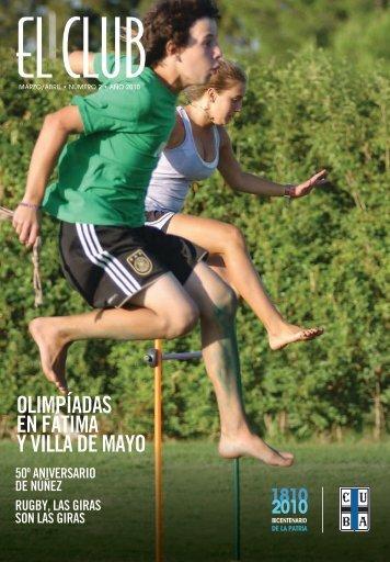 OLIMPÍADAS EN FÁTIMA Y VILLA DE MAYO - CUBA