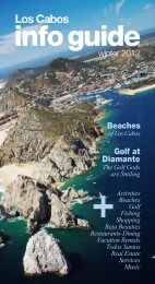 Los Cabos - The New Los Cabos Info Guide