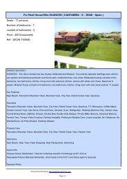 For Rent House/Villa SUANCES Spanish real estate - Repimmo