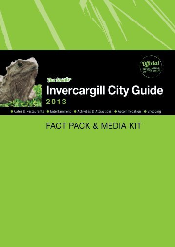 Invercargill City Guide - Market South