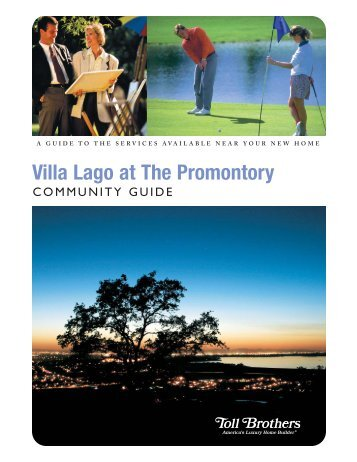 Villa Lago at The Promontory - Toll Brothers