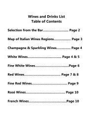 Wine List - Sale e Pepe