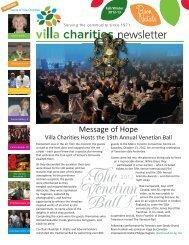 Message of Hope - Villa Charities