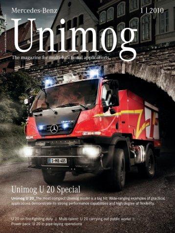 Unimog U 20 Special - Mercedes-Benz España