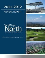 ANNUAL REPORT - San Diego North Chamber of Commerce