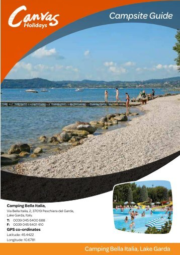 Campsite Guide - Canvas Holidays