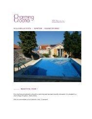 Villa BELLA VISTA PDF - Charming Croatia