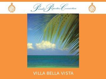 VILLA BELLA VISTA - Paradise Properties Connection