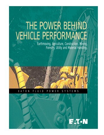 Power Behind Vehicle Performance Brochure - Pirate4x4.Com