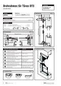 Inhaltsverzeichnis Drehrahmen für Türen - Fensterbau Schreck - Page 4