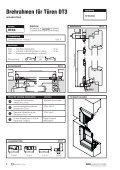 Inhaltsverzeichnis Drehrahmen für Türen - Fensterbau Schreck - Page 6