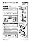 Inhaltsverzeichnis Drehrahmen für Türen - Fensterbau Schreck - Page 7
