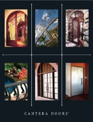 2011 Catalog - Cantera Doors