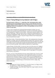 Neues Viatop-Belagswerk produziert mit Erdgas - Wasserwerke Zug ...