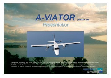 Presentation A-Viator - Airborne Technologies
