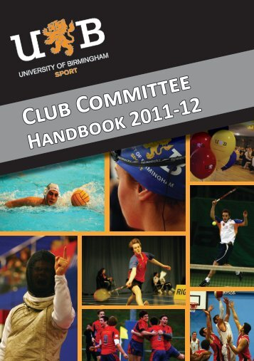 Club Committee - download.bham.ac.uk - University of Birmingham