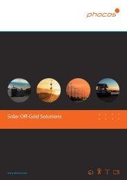 Solar Off-Grid Solutions - Phocos.com