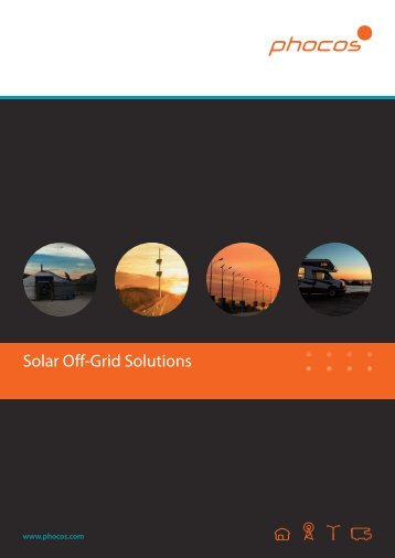 Solar Off-Grid Solutions - Phocos.com
