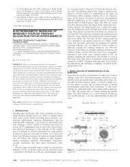 Electromagnetic modeling of massively coupled through silicon vias ...