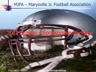here - Marysville Junior Football Association