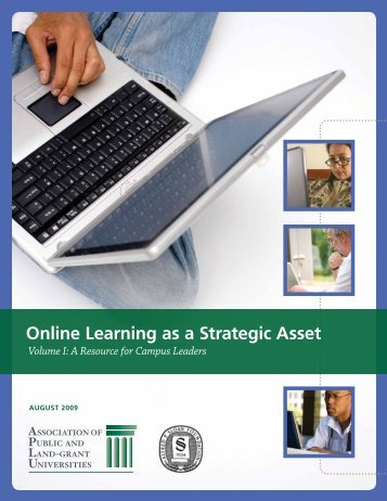 Online Learning as a Strategic Asset - Office of the Chancellor