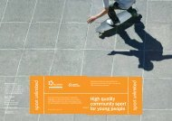 High quality community sport for young people: operational ... - nspcc