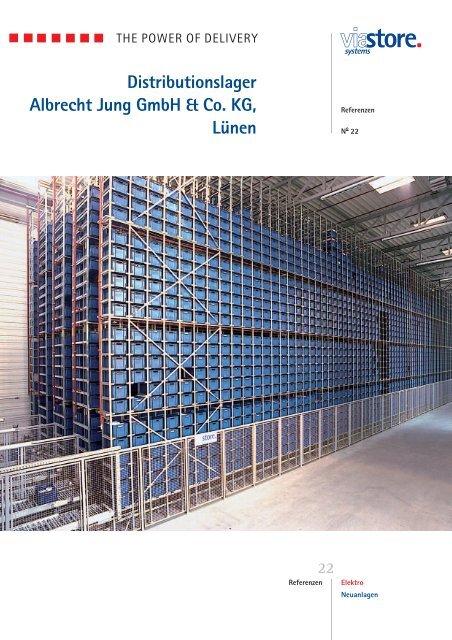 Distributionslager Albrecht Jung GmbH & Co. KG, Lünen - Viastore ...